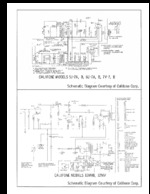 CALIFONE 7V7 Schematic Only