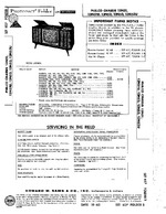 PHILCO 13N52 SAMS Photofact®