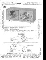 PHILCO Q967WA SAMS Photofact®