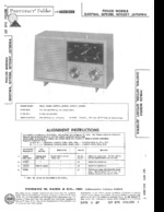 PHILCO Q703GY SAMS Photofact®