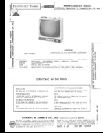 GENERAL ELECTRIC R403DWD SAMS Photofact®
