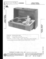 PHILCO P710BU SAMS Photofact®