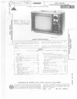 SONY KV1201 SAMS Photofact®