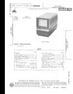 SONY KV4000 SAMS Photofact®