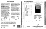 PANASONIC CT27S61S SAMS Photofact®
