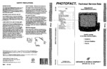 PANASONIC CT13R22T SAMS Photofact®