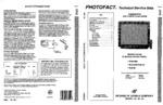 PANASONIC CT3142SFT SAMS Photofact®
