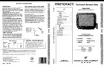 PANASONIC CT27G20UT SAMS Photofact®