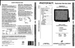 PANASONIC CT31XF22CT SAMS Photofact®