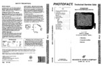 PANASONIC CT27G30T SAMS Photofact®