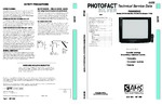 PANASONIC CT27SF37B SAMS Photofact®