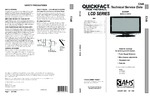 SHARP LC37D43U SAMS Quickfact