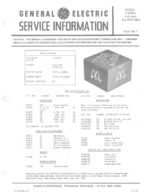 GENERAL ELECTRIC 72789A OEM Service
