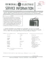 GENERAL ELECTRIC 72880B OEM Service