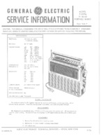 GENERAL ELECTRIC 72970B OEM Service