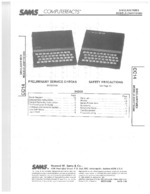 SINCLAIR ZX81 SAMS Photofact®
