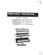 CASIO CT501(MX35) OEM Service