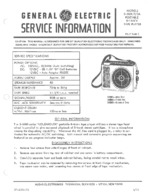 GENERAL ELECTRIC 3-5503A OEM Service