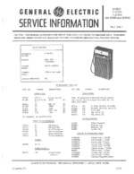 GENERAL ELECTRIC 72705A OEM Service