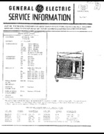 GENERAL ELECTRIC 72964A OEM Service