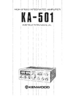 KENWOOD KA501 OEM Owners