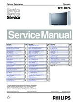 Philips 42MF231D37 Service Guide