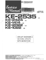 PIONEER KE1414 Schematic Only