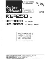 PIONEER KE250 Schematic Only
