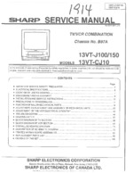 SHARP 13VT-CJ10 OEM Service