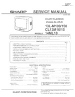 SHARP 14ML10 OEM Service