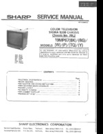 SHARP 19MP67 OEM Service