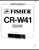 FISHER CRW41 OEM Service