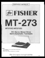 FISHER MT273(D) OEM Service