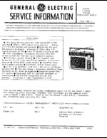 GENERAL ELECTRIC 72885D OEM Service