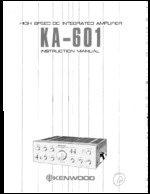 KENWOOD KA601 OEM Owners