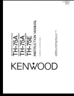 KENWOOD TH75A OEM Owners
