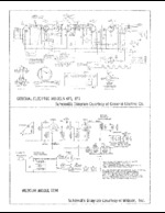 GENERAL ELECTRIC 871 Schematic Only