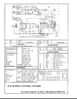 WARDS GDR8514A Schematic Only
