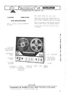 BELL & HOWELL 2265 SAMS Photofact®