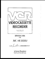 JVC HR3300U SAMS Photofact®